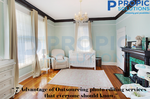 Outsourcing photo editing service